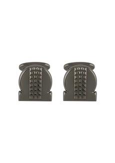 Ferragamo studded Gancio cufflinks