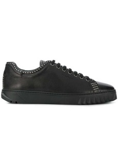 Ferragamo studded lace-up sneakers