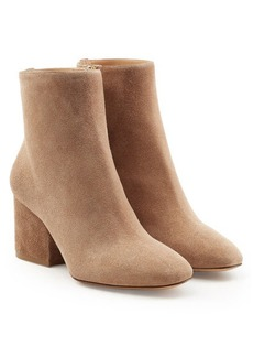 Ferragamo Suede Ankle Boots