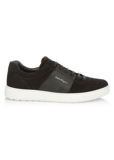 Ferragamo Sullivan Suede Sneakers
