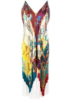 Ferragamo Sumatra pleated dress