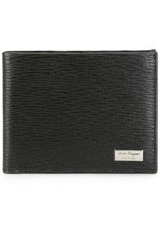 Ferragamo textured billfold wallet