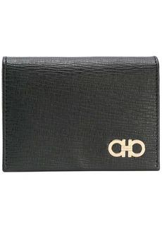 Ferragamo textured double Gancio wallet