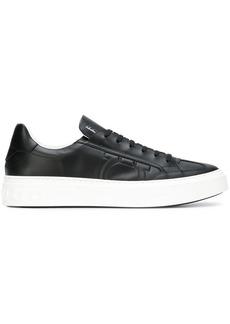 Ferragamo textured Gancio sneakers