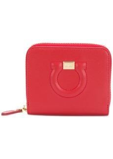 Ferragamo textured Gancio wallet