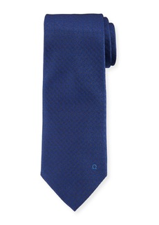 Ferragamo Textured Solid Silk Tie