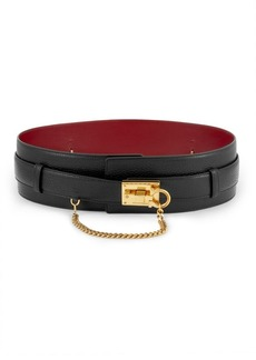 Ferragamo The Studio Turnlock Buckle Leather Belt
