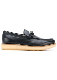Ferragamo thick sole loafers