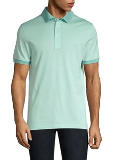 Ferragamo Three-Buttton Polo