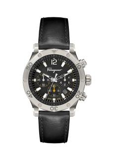 Ferragamo Time Sport Logo Chrono Watch