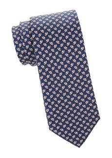 Ferragamo Tophats Silk Tie