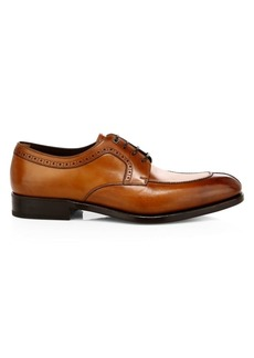 Ferragamo Tullio Leather Derby Shoes