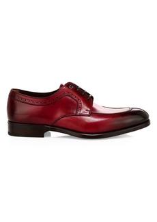 Ferragamo Tullo Lace-Up Leather Dress Shoes