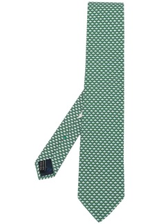 Ferragamo umbrella print silk tie