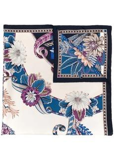 Ferragamo Valzer print scarf