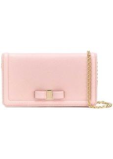 Ferragamo Vara bow chain wallet