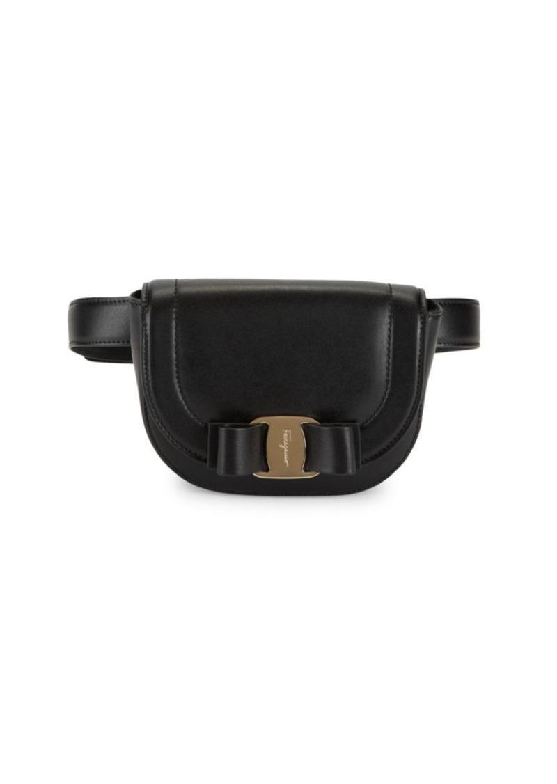 Ferragamo Vara RW Leather Belt Bag