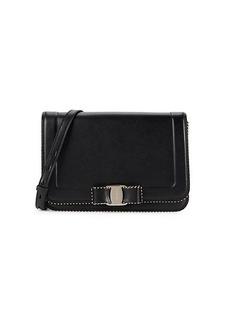 Ferragamo Vara RW Oliberty Leather Shoulder Bag