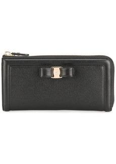 Ferragamo Vara zip-around continental wallet