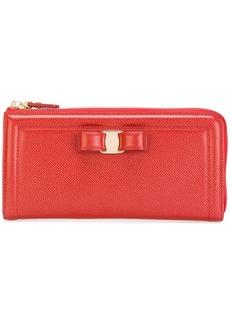 Ferragamo Vara zip-up continental wallet