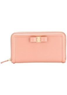 Ferragamo Vara zip wallet