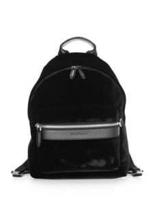 Ferragamo Velvet Backpack
