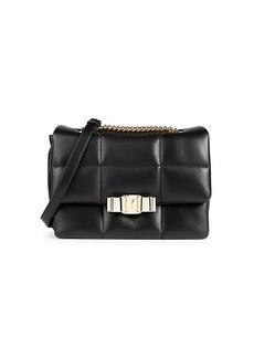 Ferragamo Vendom Leather Crossbody Bag