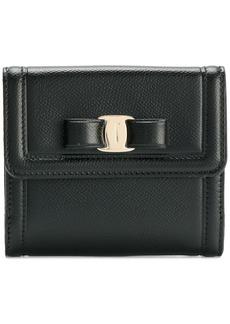 """Ferragamo """"vera"""" bow compact wallet"""