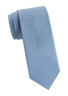 Ferragamo Volleyballs Silk Tie