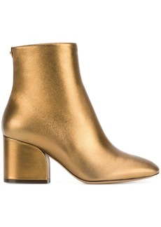 Ferragamo Wave leather ankle boots