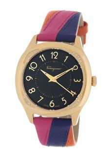 Ferragamo Women's Diamond Detail Interchangeable Strap Watch, 36mm - 0.06 ctw