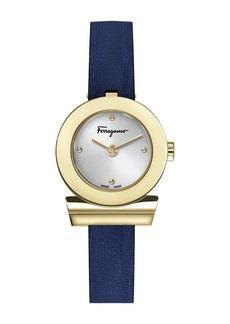 Ferragamo Women's Gancino Leather Strap Watch, 27mm
