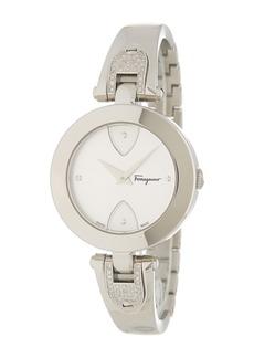 Ferragamo Women's Giglio Diamond Bangle Watch, 32mm