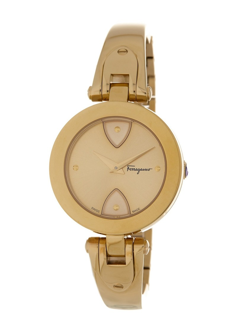 Ferragamo Women's Gilio Stainless Steel Watch, 32mm