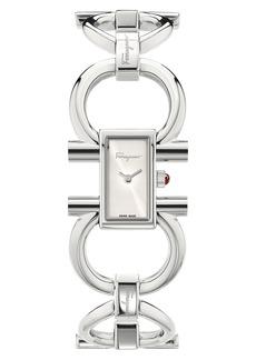 Women's Salvatore Ferragamo Double Gancini Bracelet Watch