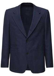 Ferragamo Wool & Cotton Single Breast Jacket