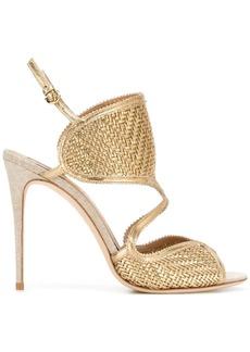 Ferragamo woven sandals