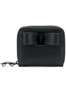 Ferragamo zip around bow purse