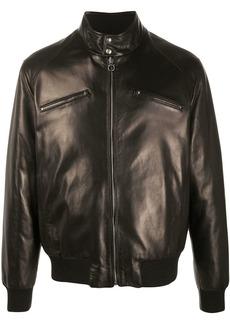Ferragamo zip-front long-sleeve jacket