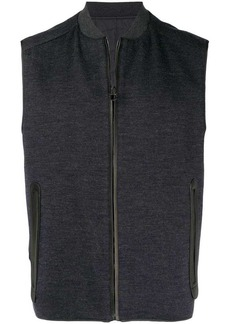 Ferragamo zipped up vest