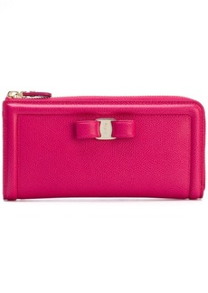Ferragamo zipped Vara wallet