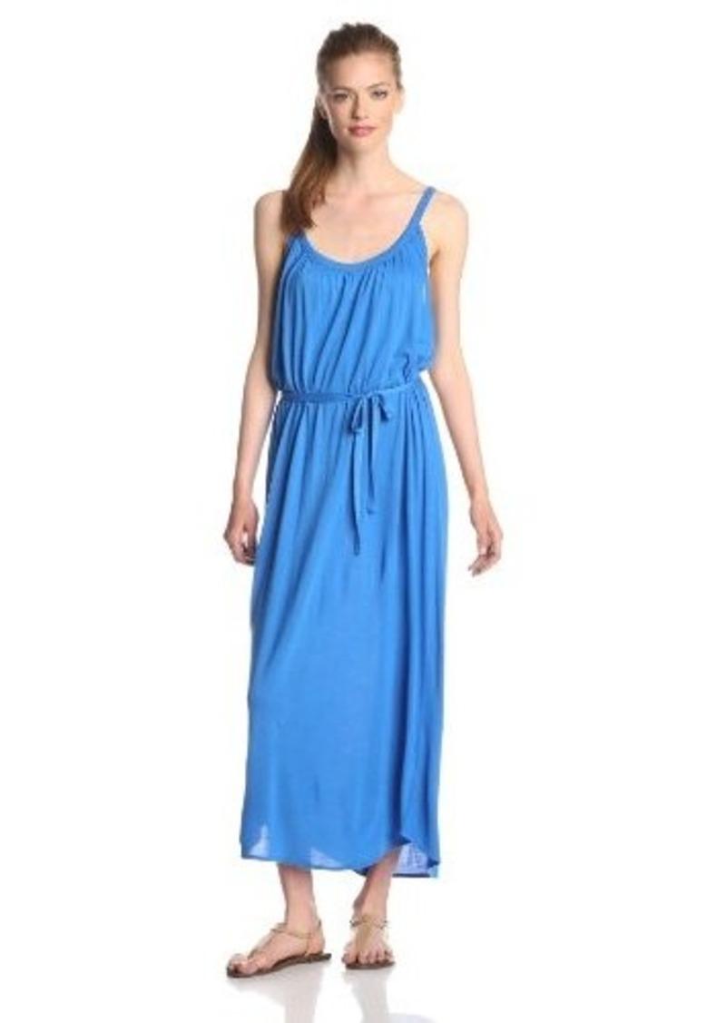 Joie Women's Laguna Jersey Tie-Waist Maxi Dress, Azul, Medium