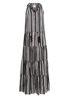 Figue Bohemian Rhapsody Betty Stripe Maxi Dress