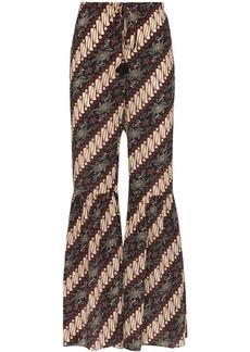 Figue Brielle batik-print trousers