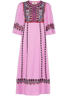 Figue Electra embroidered dress