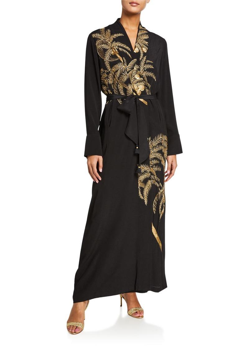 Figue Olatz Crepe de Chine Kimono