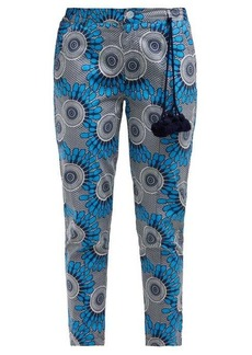 Figue Zulu cropped cotton trousers