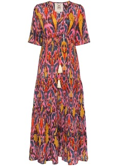 Figue Kalila printed maxi dress