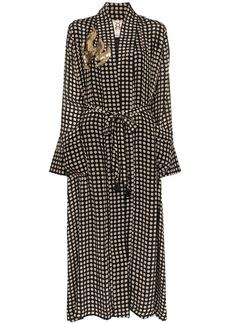 Figue Olatz polka-dot robe