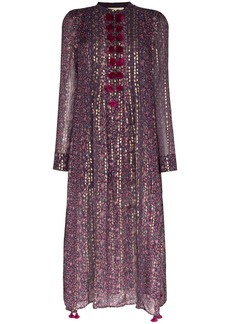 Figue Rumi printed kaftan dress